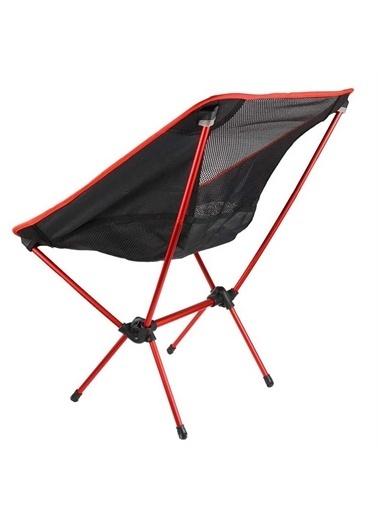 Funky Chairs Funky Chairs Ultralight 900 gr Alüminyum Katlanır Kamp Sandalyesi - Kırmızı Kırmızı